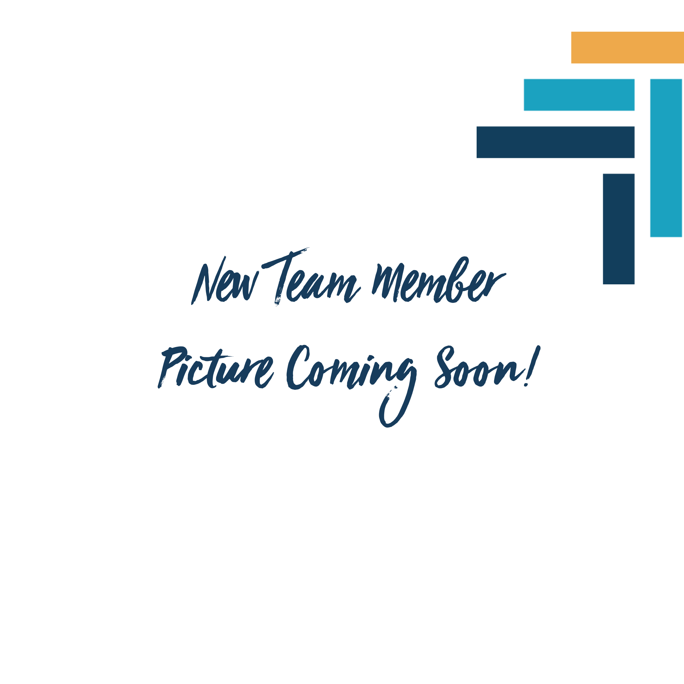 New Team Member Picture Coming Soon!